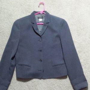 J.Crew Charcoal Gray Wool Jacket  6